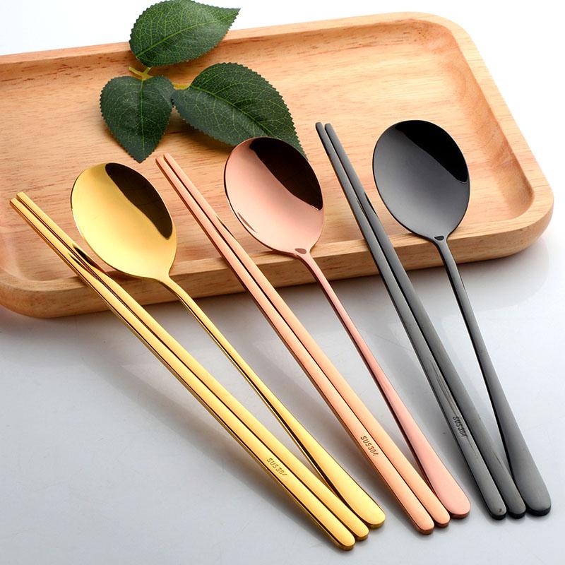 304不锈钢筷子勺子