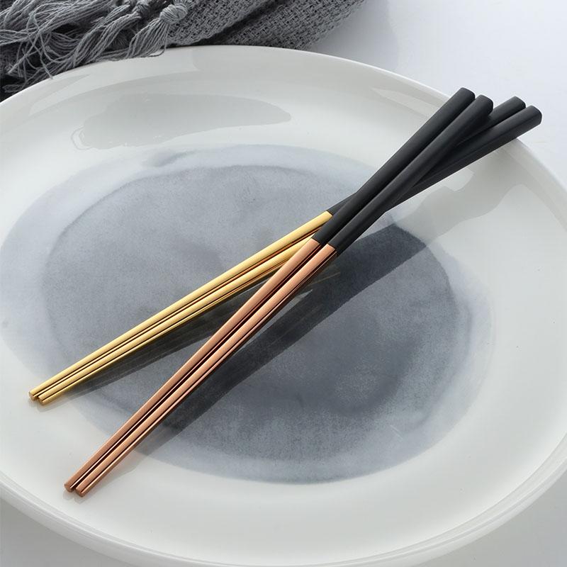 304不锈钢镀钛筷子