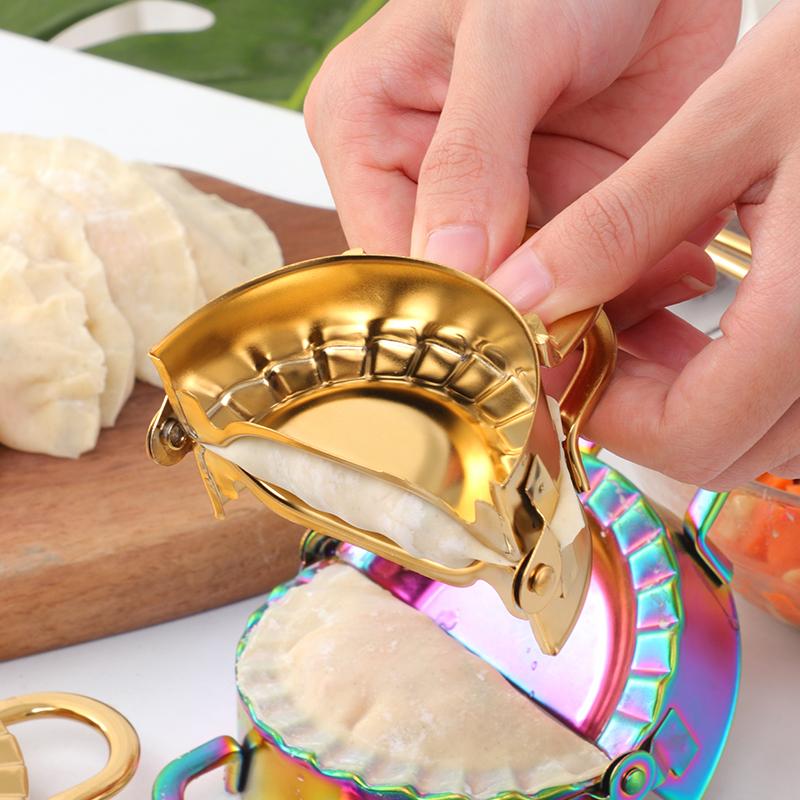 304不锈钢包饺子器圆形工具