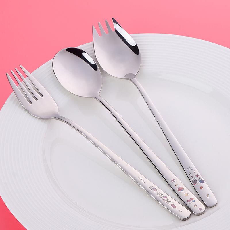 304不锈钢情侣餐具