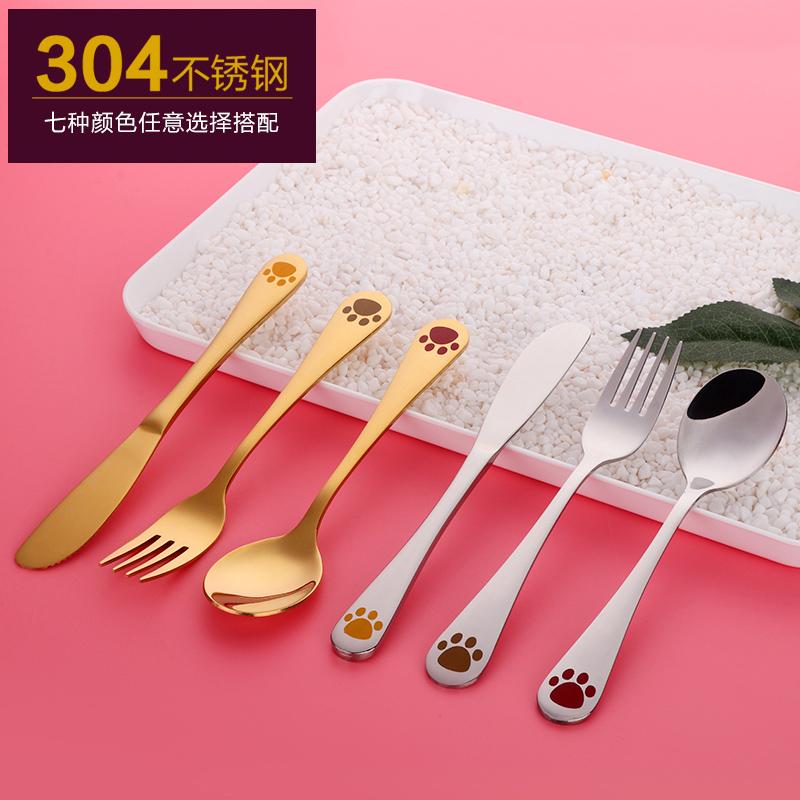 304不锈钢儿童刀叉