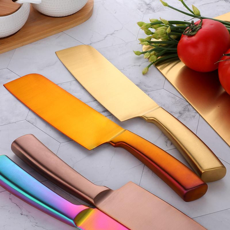 专用小型金色切菜刀