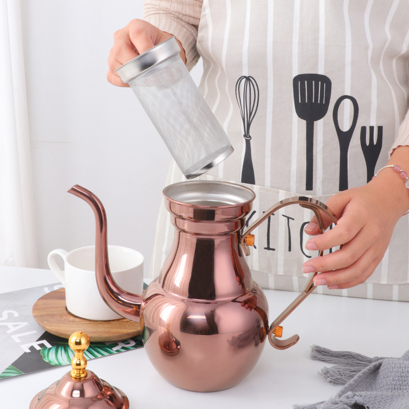 不锈钢酒楼餐厅饭店茶壶